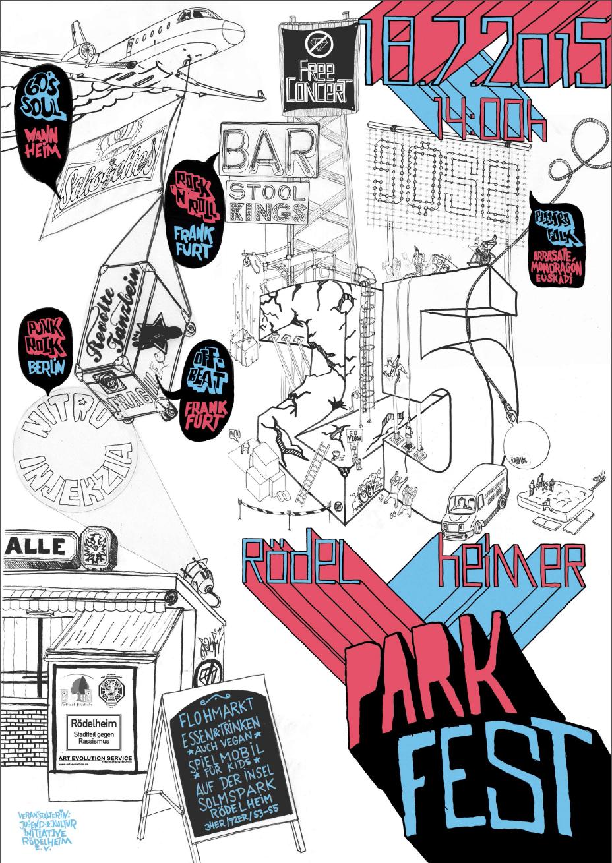 Parkfest Plakat 2015